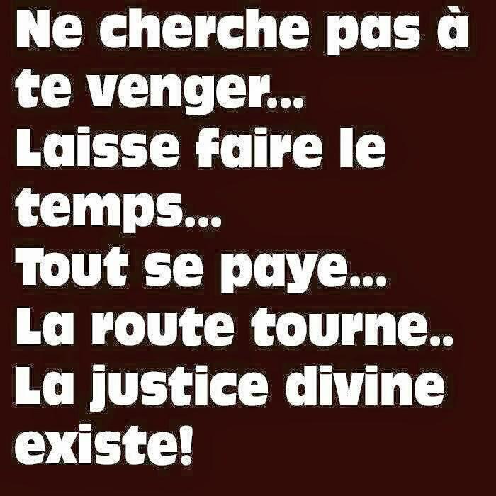 Citations et panneaux facebook partager panneau sur la vengeance et la jus - Citation sur la justice ...