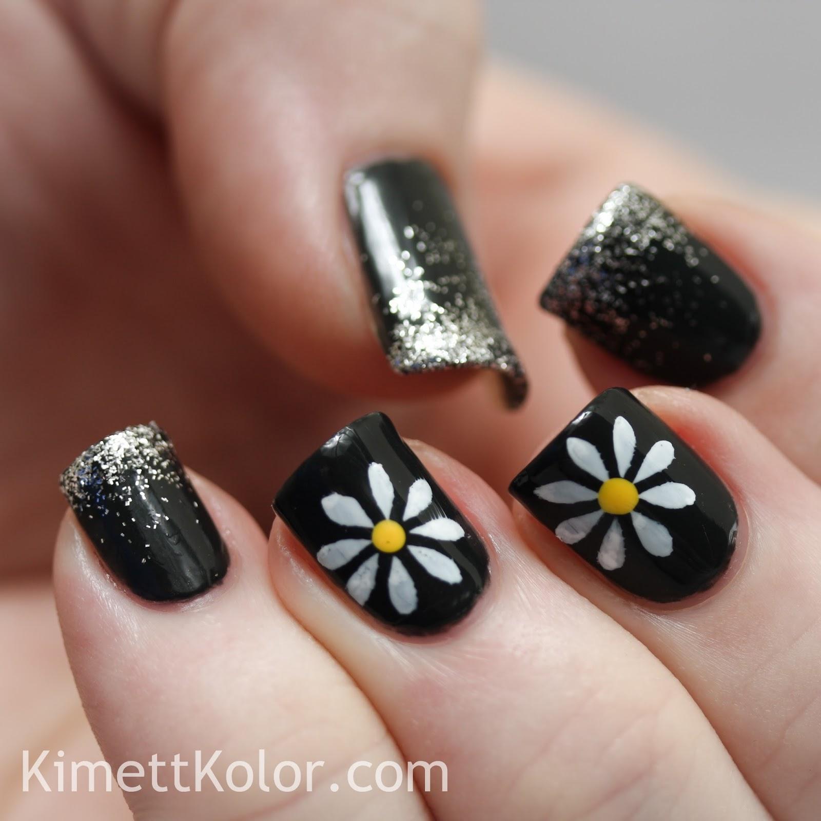 Theme Of The Month April Daisies Diamond Tips Kimett Kolor