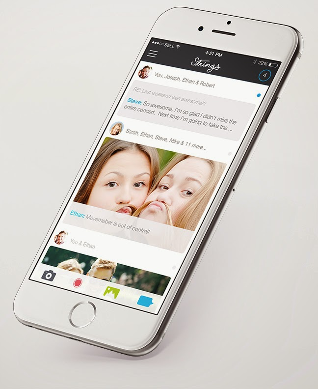 Strings messaging app for iPhone allow users to delete sent messages permanently
