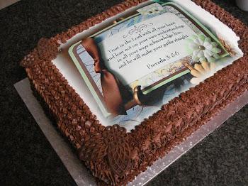 Bible Verse Cake