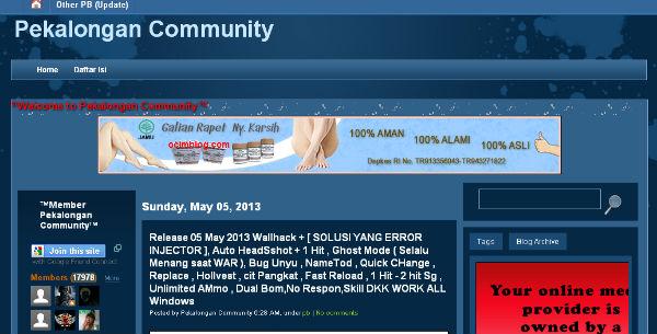 download cheat pb pekalongan community