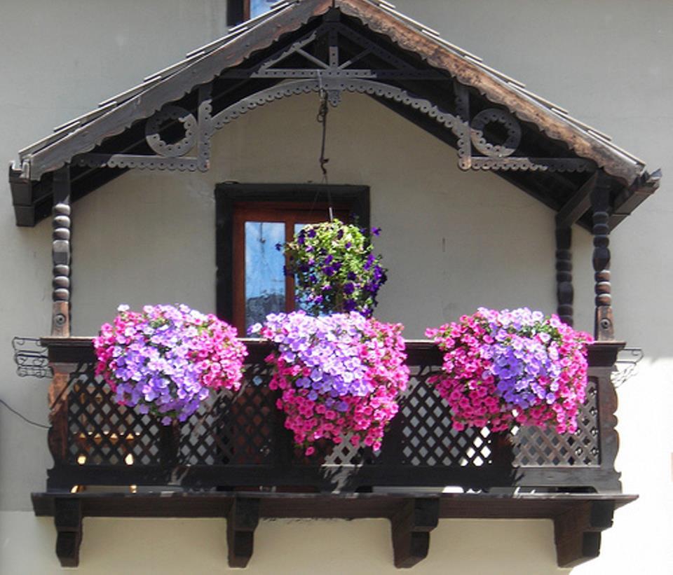 Идеи для декора и обустройства балкона своими руками, фото у.