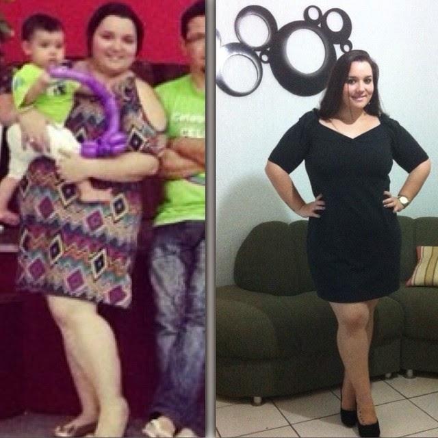 1º Antes e Durante (- 24 kg)