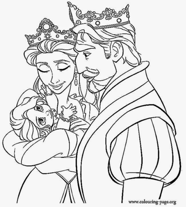 Flynn Rider Coloring Pages Disney