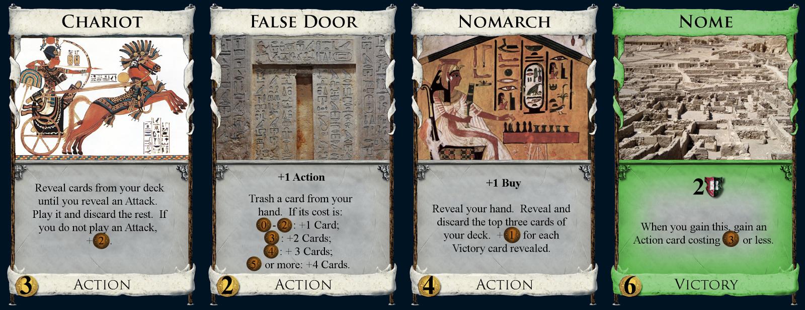 Chariot, False Door, Normarch, Nome