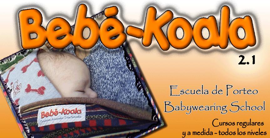 Bebé-Koala 2.1 - Escuela de porteo - Babywearing school