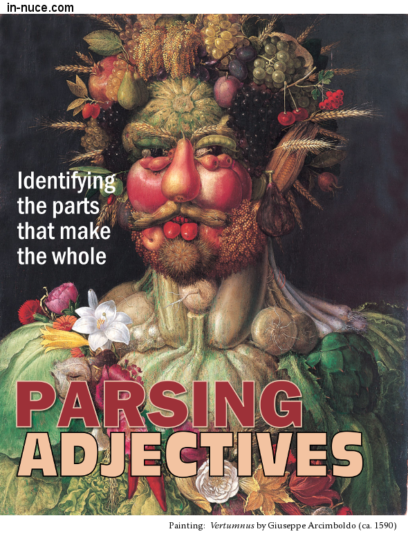 in-nuce.com  parsing adjectives