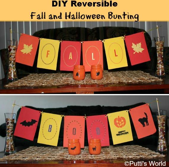 DIY Fall & Halloween Bunting