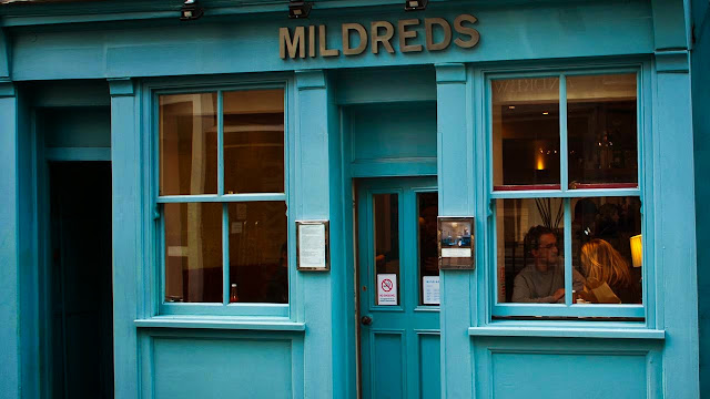 Review of Mildred's Restaurant, Soho, London