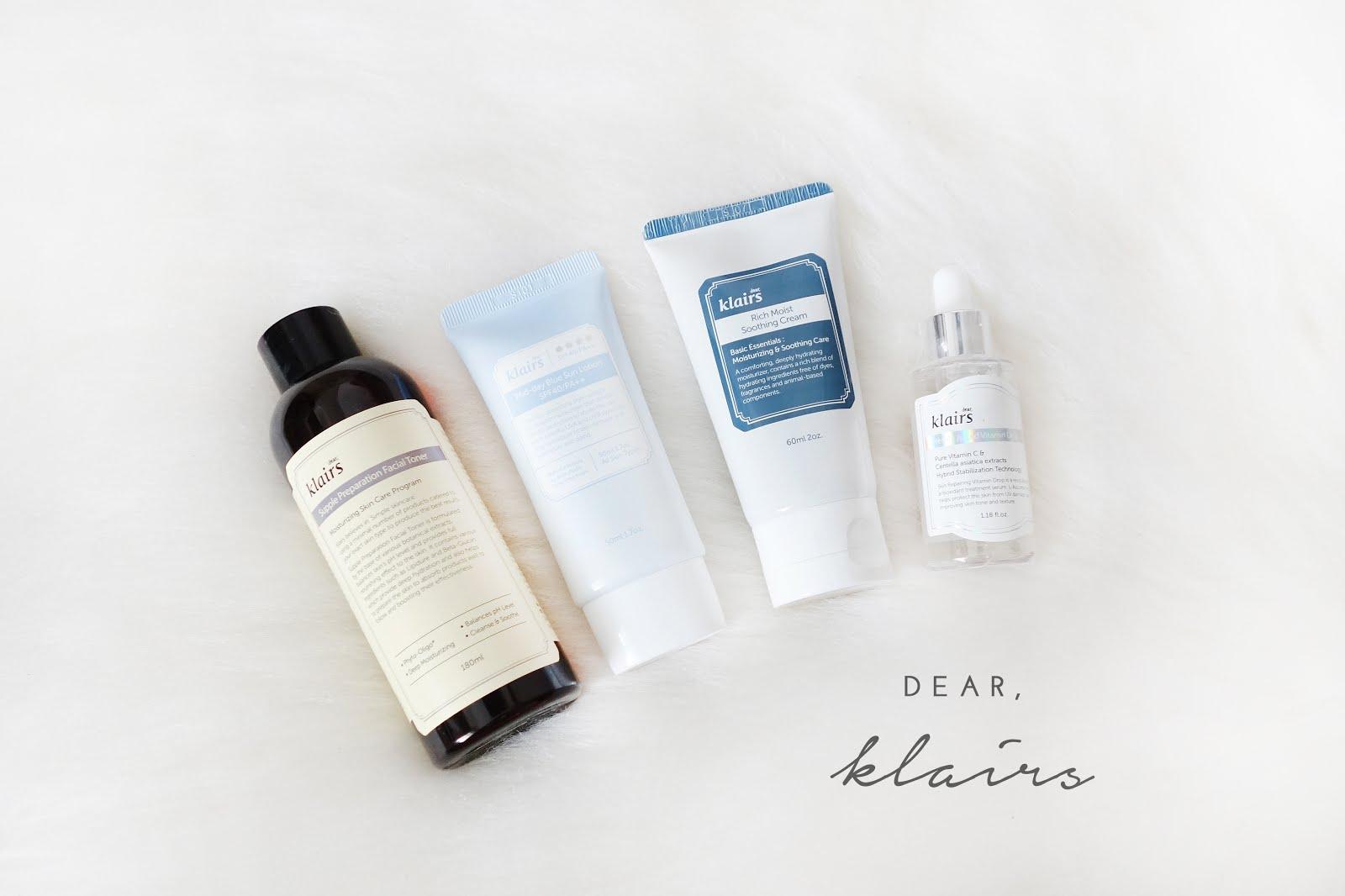 Korean Skincare Haul Mini Reviews Xueqis Beauty Episode Nature Republic Herb Blending Toner Klairs Supple Preparation Facial S28
