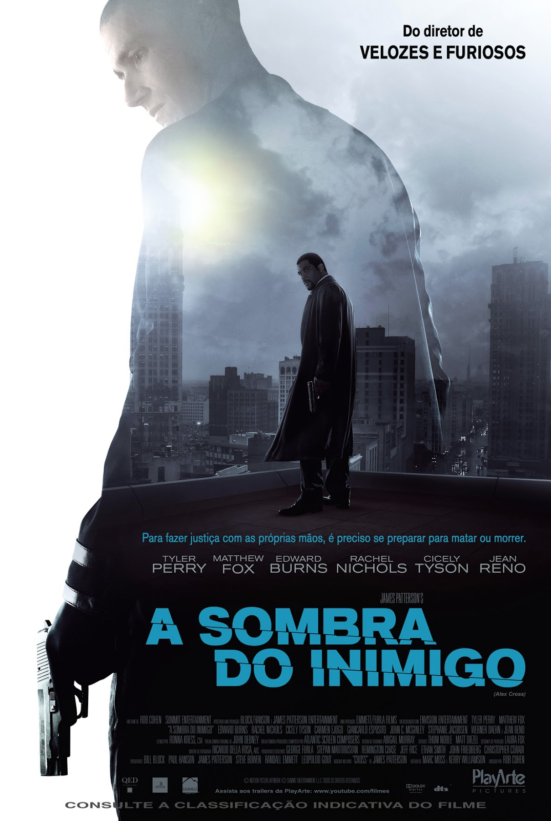 A Sombra do Inimigo (Alex Cross) Dual Áudio 2013