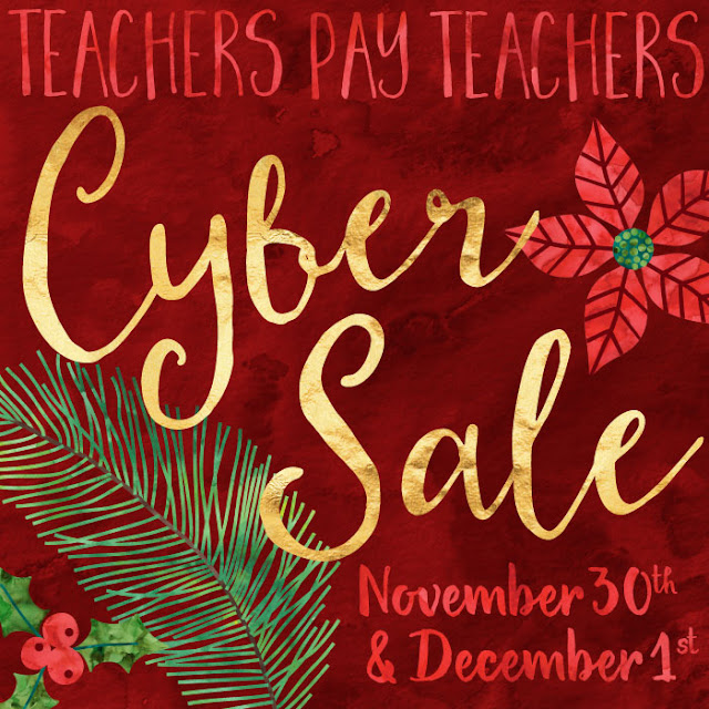 Teacherspayteachers big Cyber Sale 2015 ~ Fern Smith's Classroom Ideas ~ TeachersPayTeachers Big Cyber Monday Sale and Code.