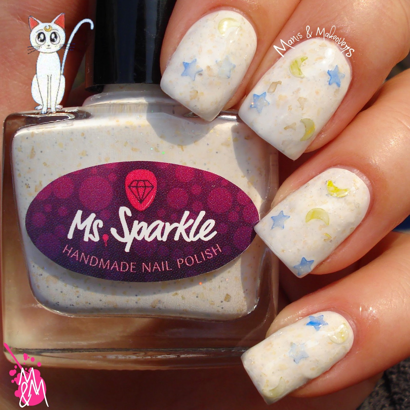 Manis & Makeovers: Ms. Sparkle Sailor Moon Collection - Artemis
