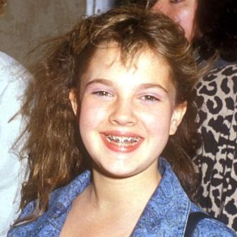 Drew Barrymore braces
