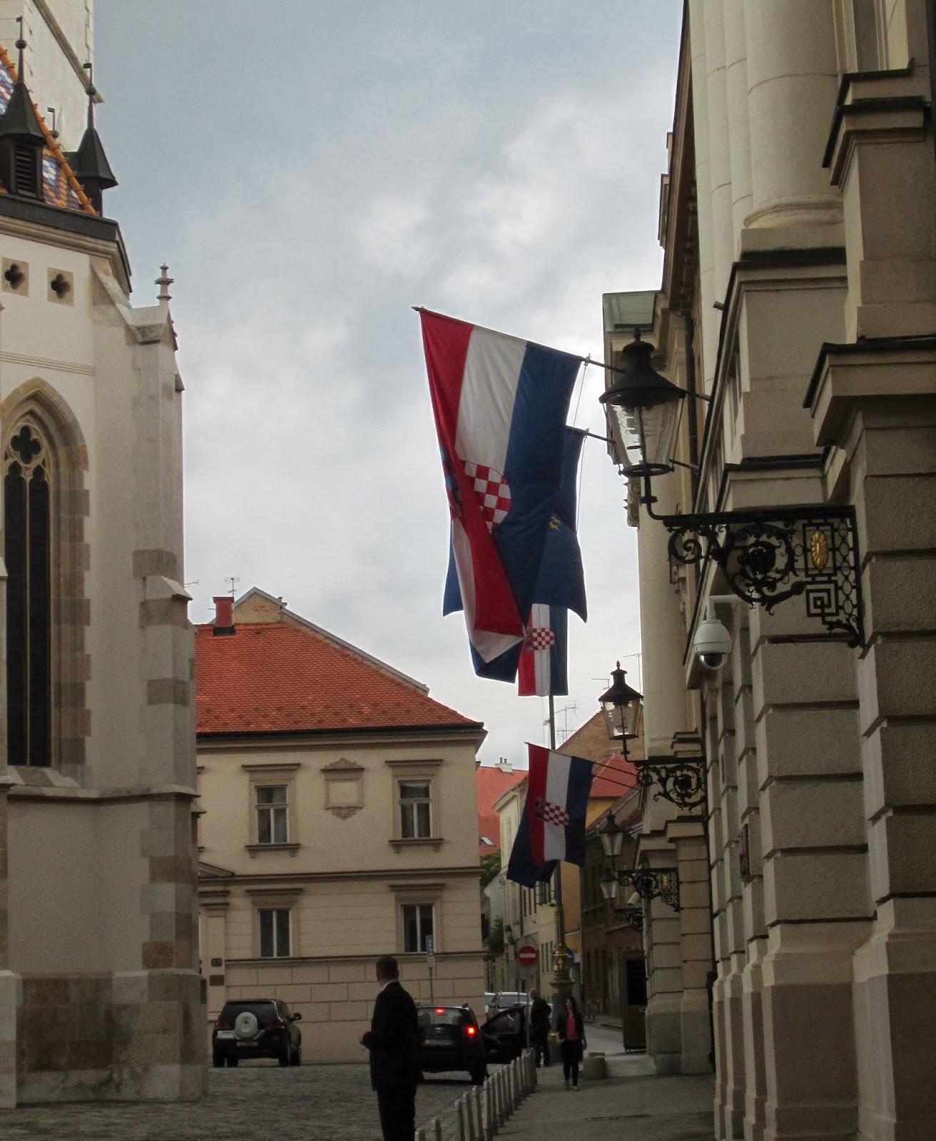 Souvenir Chronicles: ZAGREB, CROATIA: ST MARK'S CHURCH AND ...
