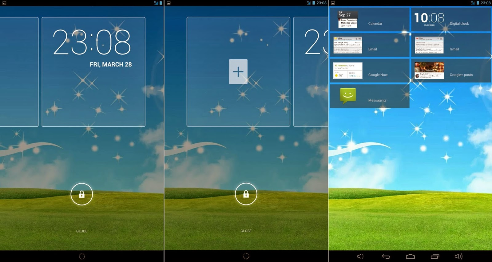 Qube PhoneTab Review: Double The Fun Lockscreen Widget
