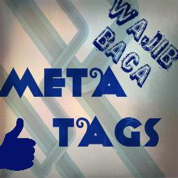 Pemilihan meta tags yang benar