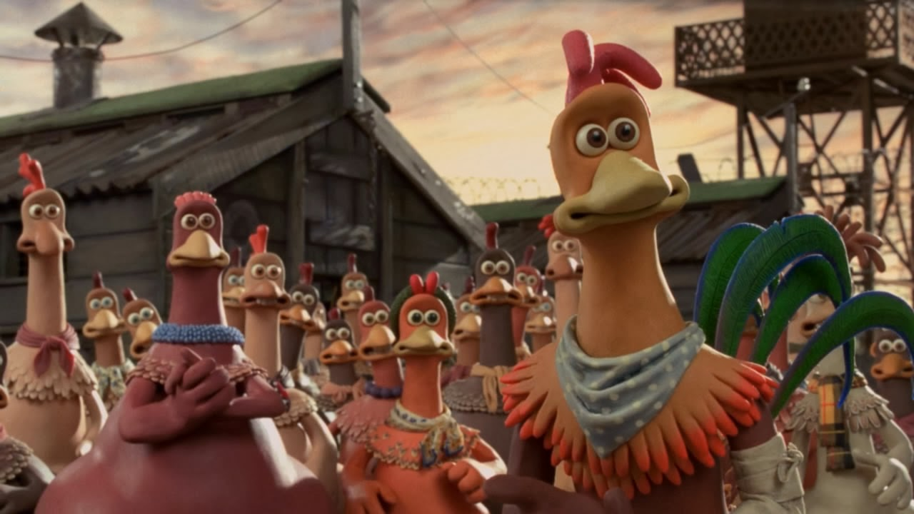 Chicken Run 2000 animatedfilmreviews.blogspot.com