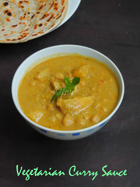 Singaporean Vegetarian curry sauce
