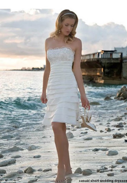 casual short wedding dresses