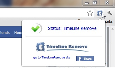 Remove timeline in Facebook
