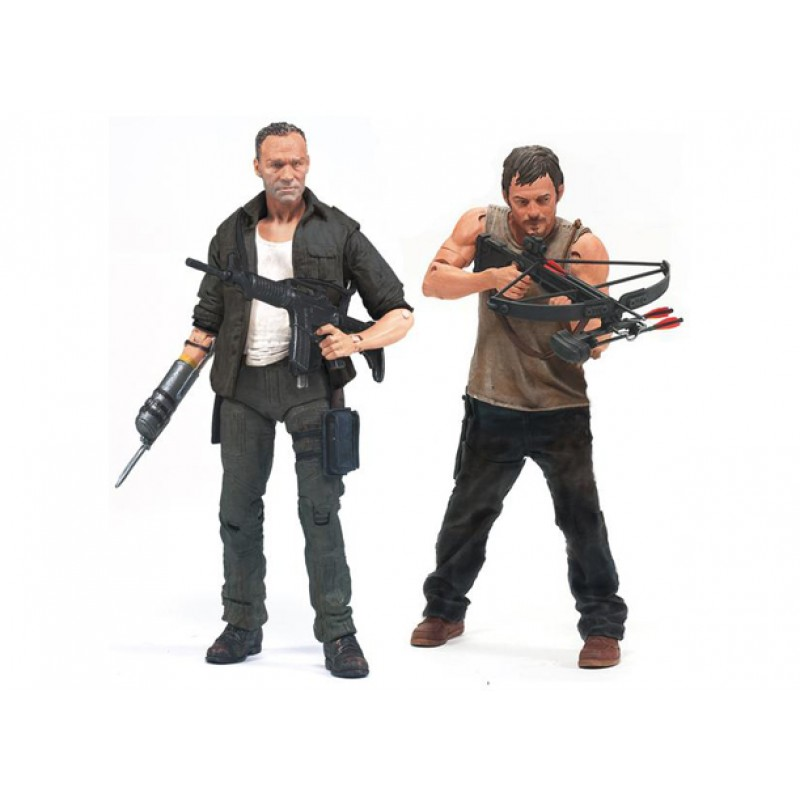 Daryl Merle Merle And Daryl Dixon Action