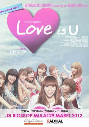 Film Love Is U Drama Musikal Girlband Cherry Belle