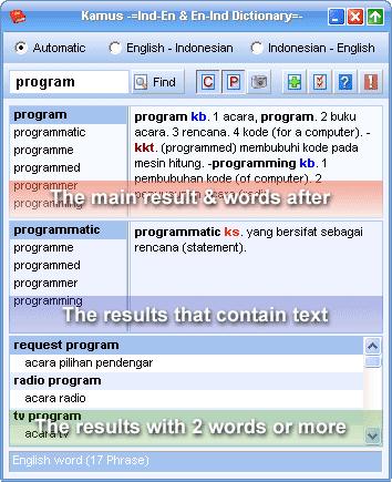 Kamus kamus bahasa inggris indonesia ini cukup simple ringan dan