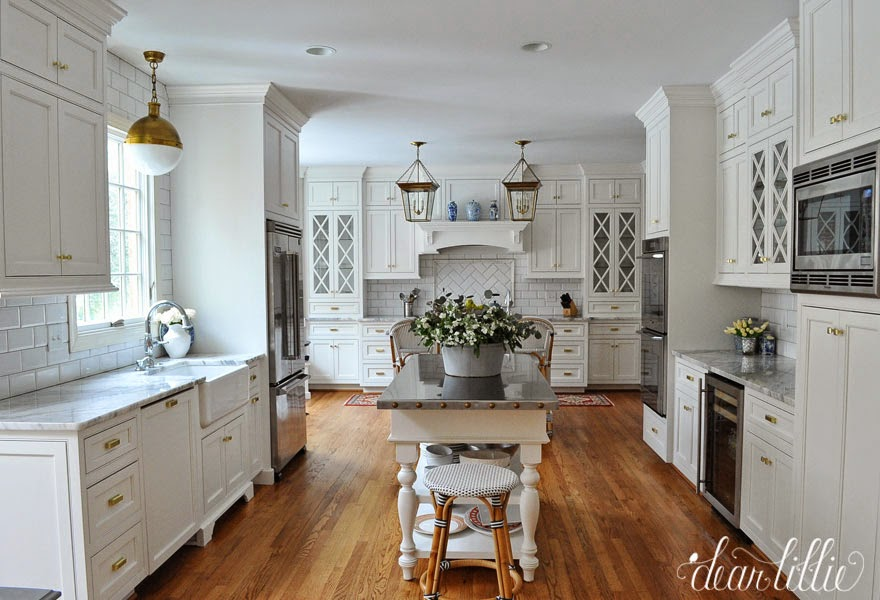 Classic White Kitchen dear lillie: a classic and timeless white kitchen