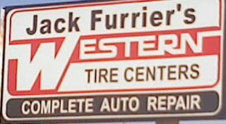 Jack Furrier's Western Tire Center Sign - Rantomness