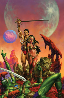 Martian Centennial by Joe Jusko