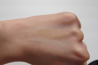 swatch of true beige from all natural face