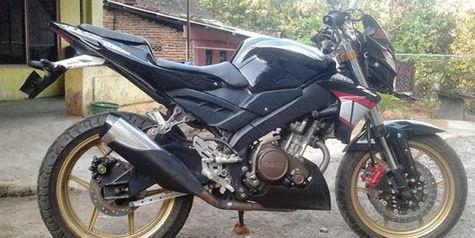 Yamaha Vixion Street fighter