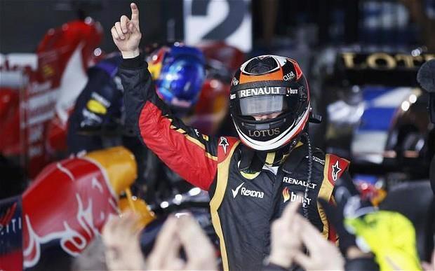 2013 Formula One Rolex Australian Grand Prix Winner