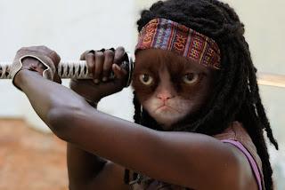 Grumpy Michonne