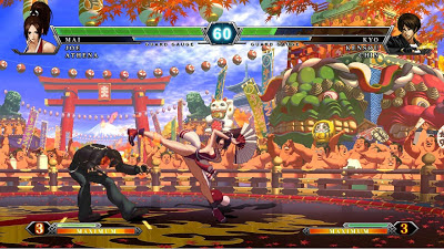 The King of Fighters XIII gameplay