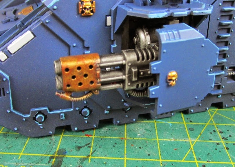 How to Lose at 40k*'**/WIP'R'Us: Beaten Brass Muzzles, How to