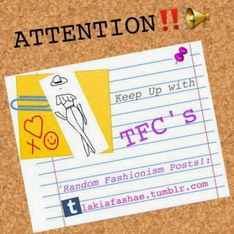 Follow the TFC Tumblr...with Random Fashionism!