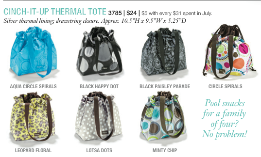 I M Going To Share Ideas For Each Item Starting With The Adorable Cinch It Up Thermal Tote