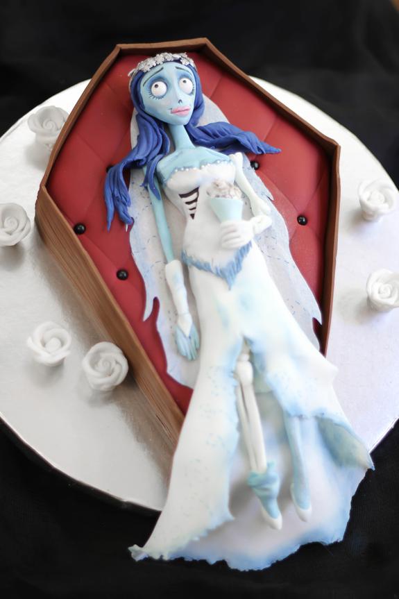 Corpse Bride Cake Tutorial