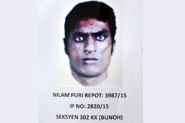 Fotofit Suspek Kes Bunuh Pemandu Teksi di Kota Bharu
