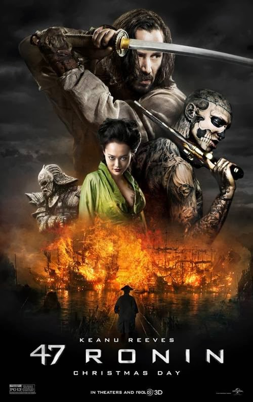 47 Ronin movie promo art