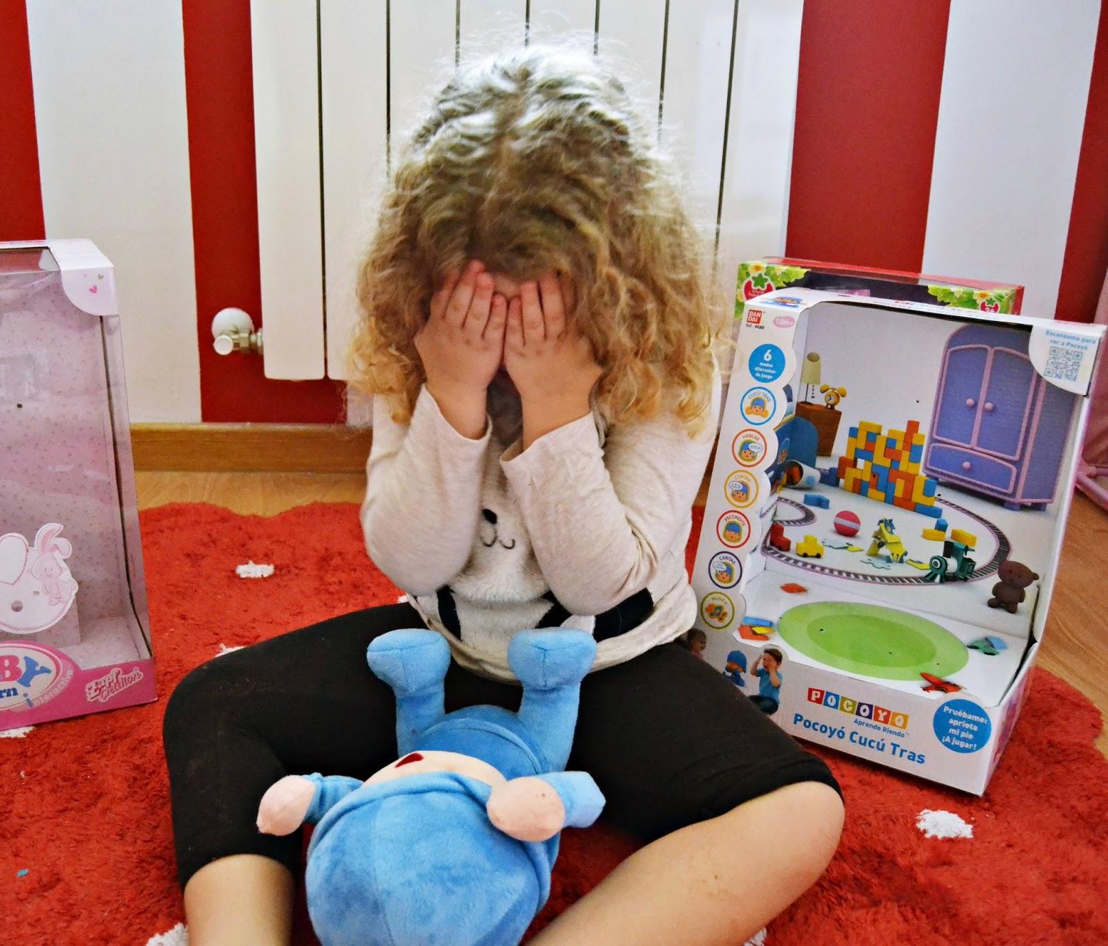 hemos probado pocoyo cucu tras de bandai review blog infantil mama de noa