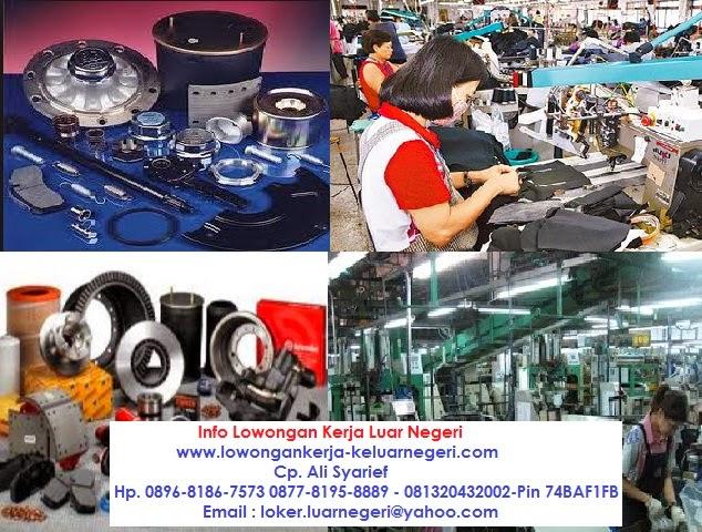 Lowongan Kerja Pabrik Spare Part di Taiwan perempuan 20 orang - Kontak  Ali Syarief 089681867573 087781958889 - 081320432002-085724842955 Pin 74BAF1FB
