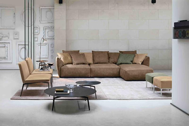 Modularidad y comfort para los sofás Alivar