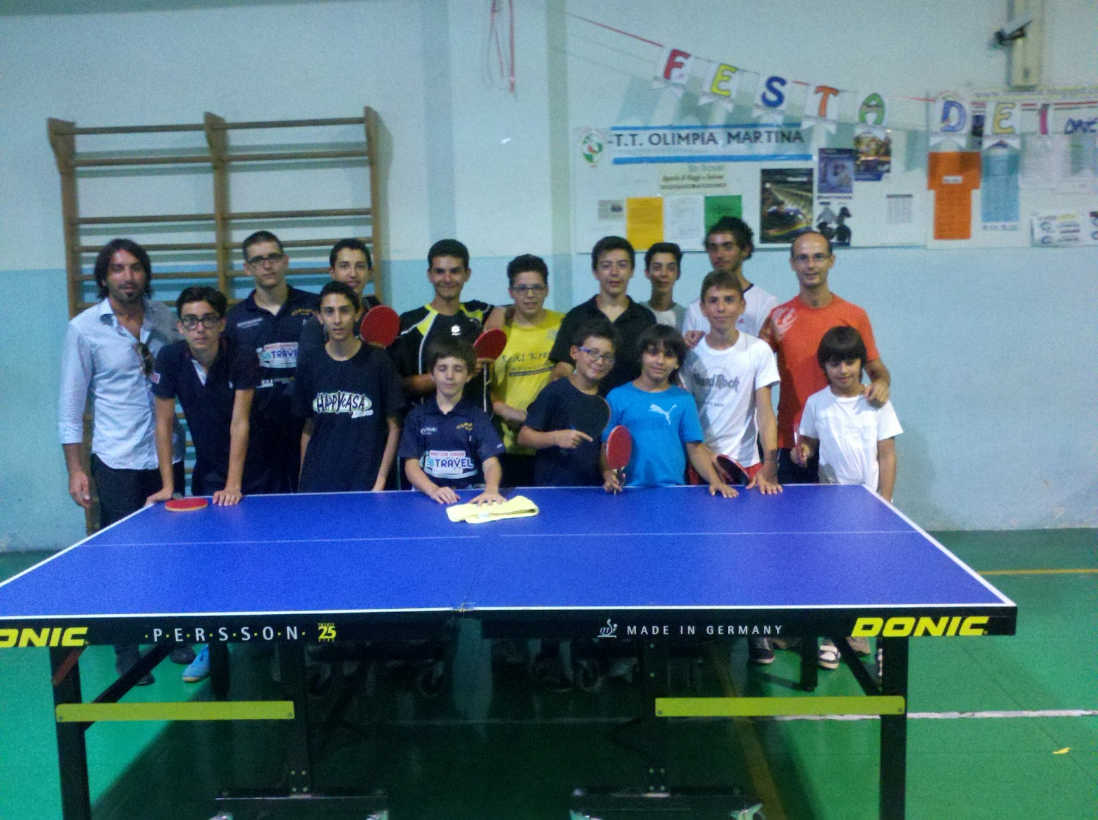 Si e 39 svolto ieri giovedi 39 5 luglio 2012 un incontro - Stefano bosi tennis tavolo ...