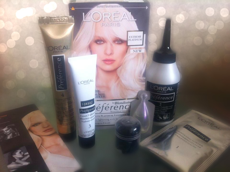 Loreal Extreme Platinum Review Les Blondissimes | Rachael ...