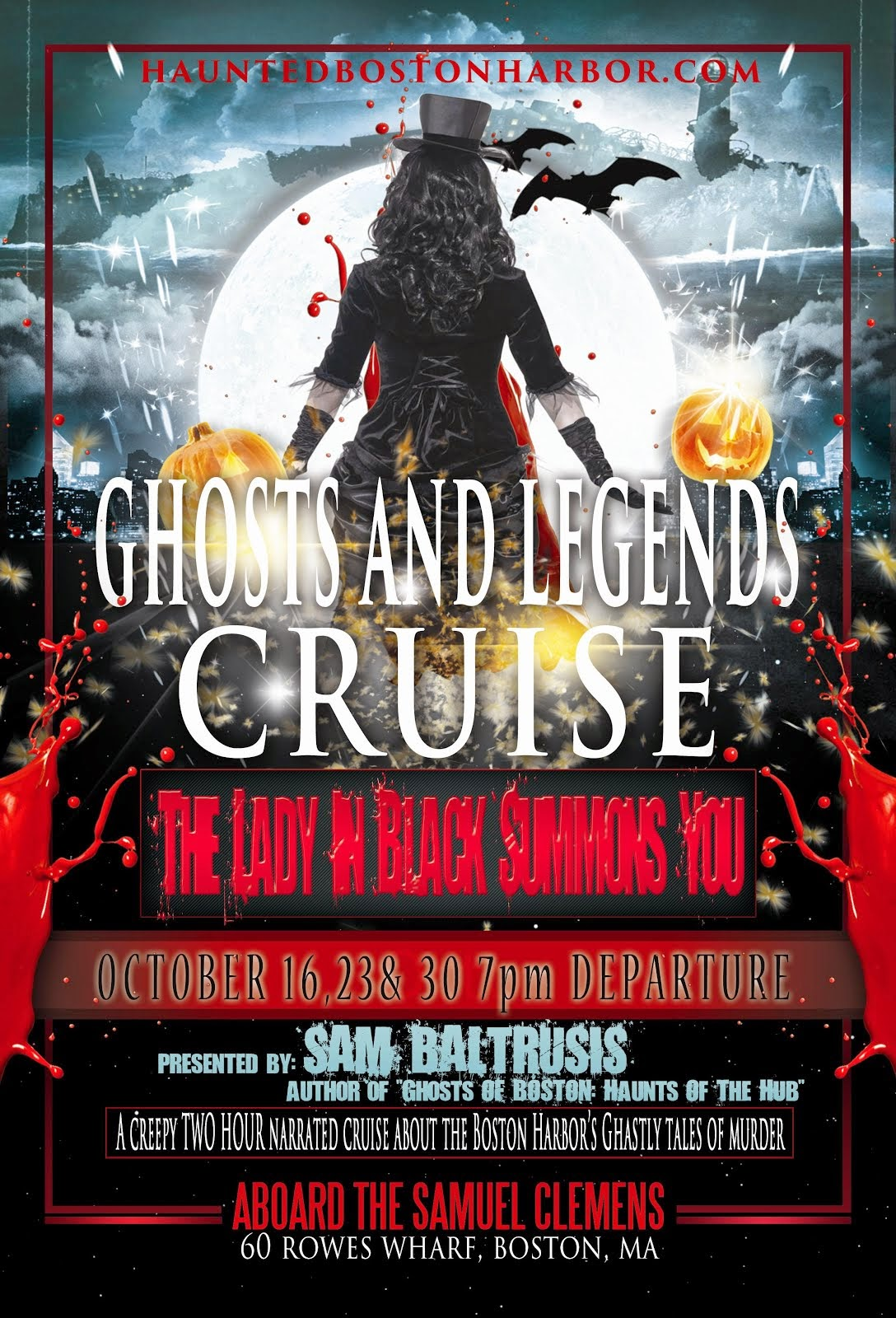 Haunted Boston Harbor Ghost Cruise