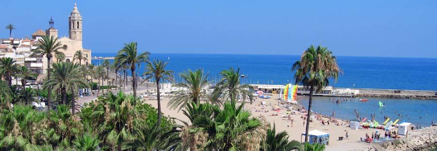 Bezoek barcelona stranden op 30 minuten van barcelona - Fotos de sitges barcelona ...
