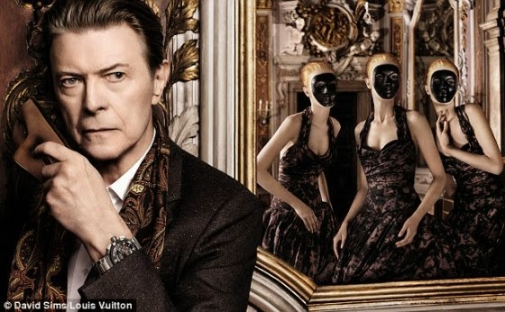 David Bowie para Louis Vuitton